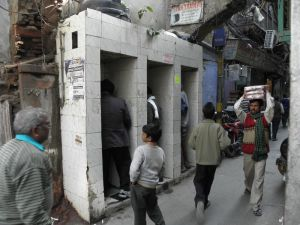 Toilettes publiques, Delhi